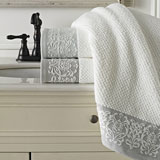 Kassatex Valencia Bath Towels | Gracious Style