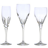 Nouveau Chelsea Crystal Stemware by Varga | Gracious Style