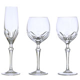 Nouveau Classic Crystal Stemware by Varga | Gracious Style