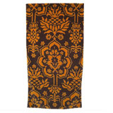 Venetian Brocade Cocoa Gold Towels | Gracious Style