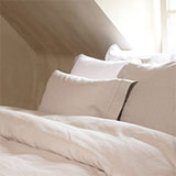 Victoria Linen Sheets and Duvet Covers | Gracious Style