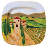 Landscape Wall Plates - Home Decor by Vietri | Gracious Style