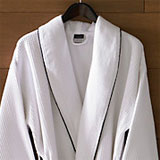 Hotel Waffle Bathrobe by Kassatex | Gracious Style