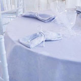 Le Jacquard Francais A La Folie Aquamarine Table Linens &#124; Gracious Style