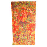 Abstract Floral Cotton Beach Towel by Fresco | Gracious Style