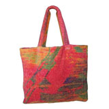 Abstract Watercolor Terry Tote Bag by Fresco | Gracious Style