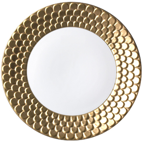 Aegean Sculpted Gold Dinnerware