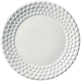 Aegean Sculpted White Dinnerware | Gracious Style