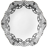 Alencon Platinum Porcelain Dinnerware from | Gracious Style