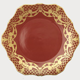 Alencon Red Dinnerware