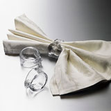 Ascutney Napkin Rings by Simon Pearce | Gracious Style