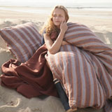Avignon Stripe Linen Duvet Cover | Gracious Style