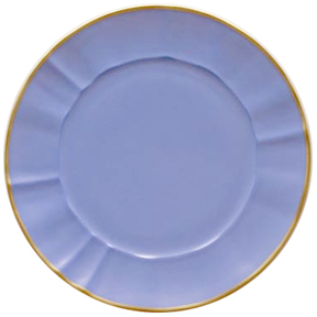 Blue Charger Plate by Anna Weatherley | Gracious Style