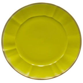 Celery Green Charger Plate by Anna Weatherley | Gracious Style