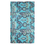 Aztec Blue Cotton Beach Towel by Fresco | Gracious Style