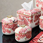 Blossom Bath Accessories Bone China &#124; Gracious Style