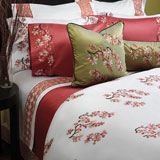 Blossom Embroidered Bedding by Anali | Gracious Style