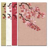 Blossom Embroidered Linen Hand Towels &#124; Gracious Style