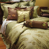 Breeze Embroidered Bedding by Anali | Gracious Style