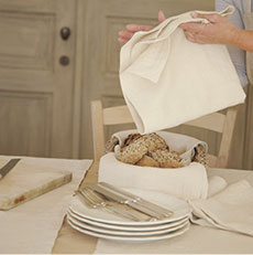 Brisbane Table Linens by Libeco &#124;Gracious Style