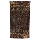 Casbah Rug Eggplant Cotton Bath Towels by Fresco | Gracious Style