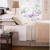 Bed Skirts: Dust Ruffles, Tailored Styles in Linen and Cotton | Gracious Style