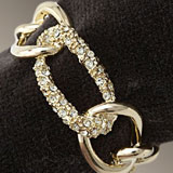 L'Objet Chain Links Gold Napkin Rings | Gracious Style