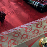 Garnier Thiebaut Christmas Light Table Linens | Gracious Style