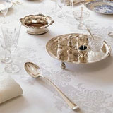 Double Damask Irish Linen Tablecloths &#124; Gracious Style
