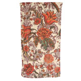 Damask Flowers Ivory Cotton Bath Towels by Fresco | Gracious Style