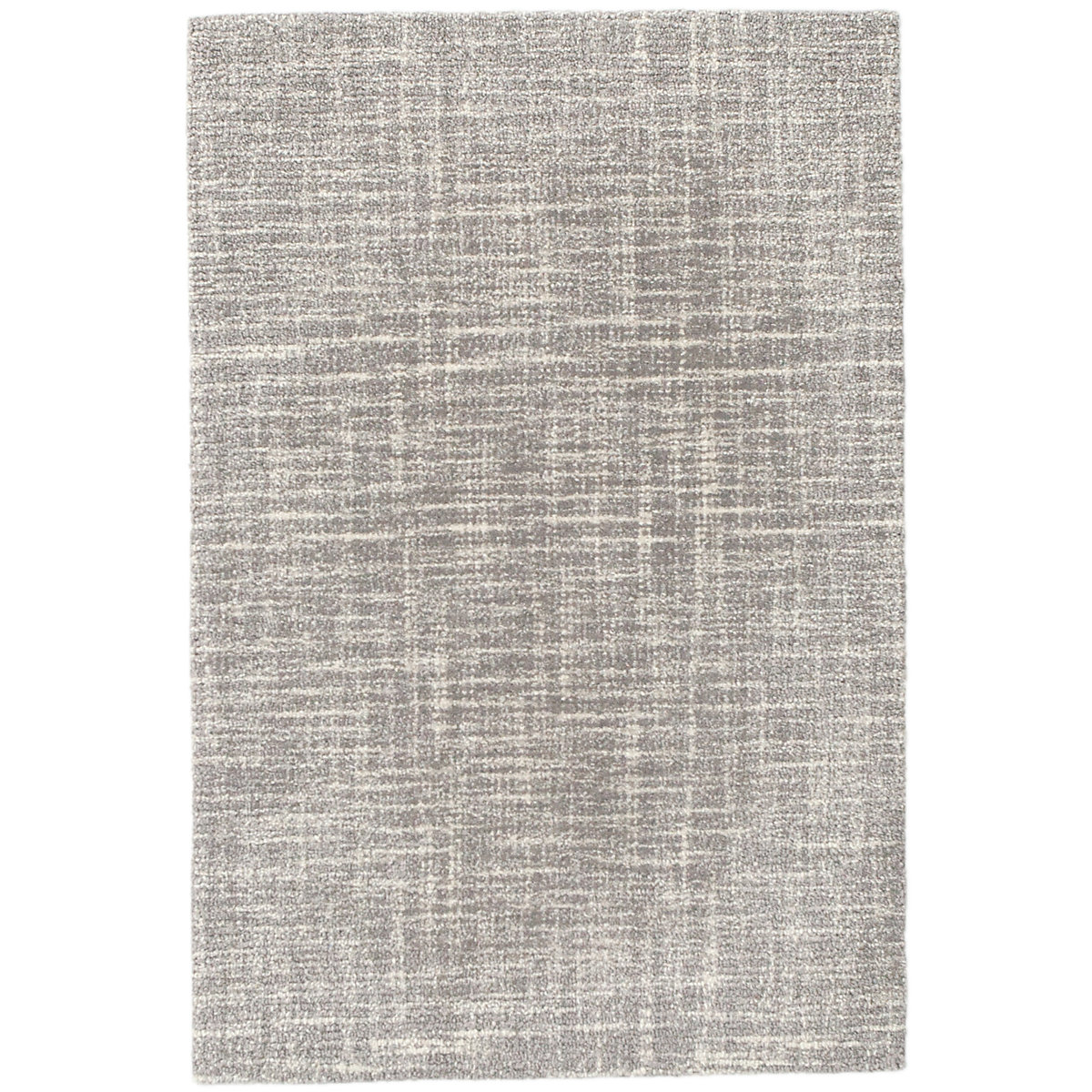 dash albert crosshatch dove grey wool micro hooked rug 4x6 gracious style. Black Bedroom Furniture Sets. Home Design Ideas