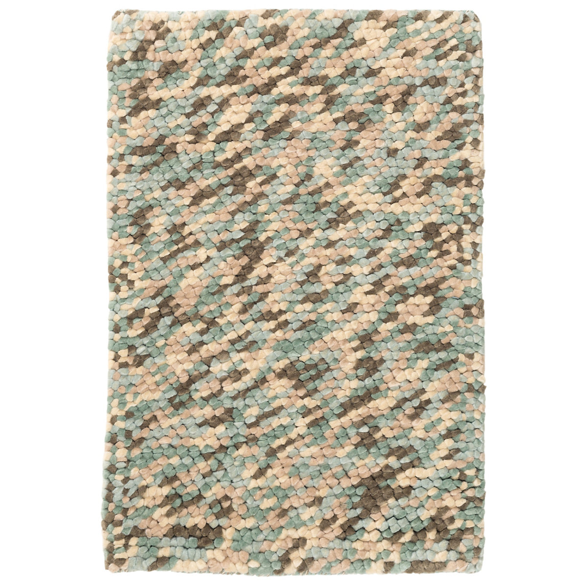 dash albert seurat seaglass wool woven rug gracious style. Black Bedroom Furniture Sets. Home Design Ideas