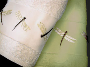 Dragonfly Bath Towels Shower Curtains Hand Towels
