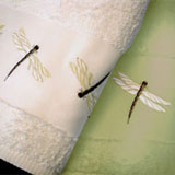 Dragonfly Bath Towels, Shower Curtains, Hand Towels &#124; Gracious Style