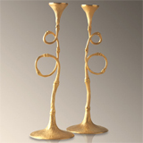 Evoca Candlesticks by L'Objet | Gracious Style