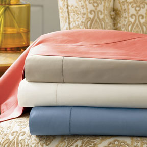 Elyse Egyptian Cotton Sateen Sheets &#124; Gracious Style