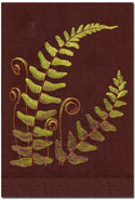 Fern Hand Towels Embroidered Linen | Gracious Style