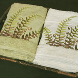 Fern Bath Towels, Hand Towels, Shower Curtain | Gracious Style