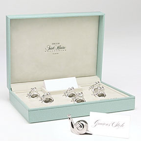 Placecard Holders Silverplated Many Styles | Gracious Style