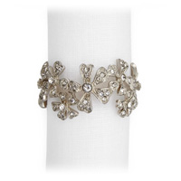 Garland Platinum Napkin Rings - Four