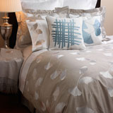 Ginkgo Embroidered Bedding by Anali | Gracious Style