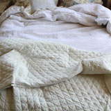 Pom Pom at Home Hampton Organic Linen Coverlet & Throw | Gracious Style