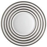 J.L. Coquet Hemisphere Platinum Stripe Dinnerware | Gracious Style