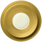 J.L. Coquet Hemisphere Gold Dinnerware | Gracious Style