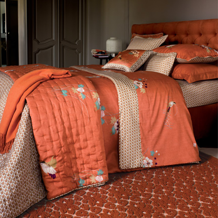 Yves Delorme Kacho Ga Coral Bedding Gracious Style