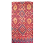 Ikat Diamond Gold Cotton Bath Towels by Fresco | Gracious Style