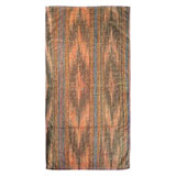 Ikat Stripes Gold Cotton Bath Towels by Fresco | Gracious Style