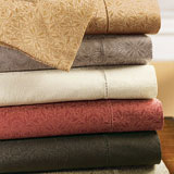 Ilaria Cotton Sheets, Duvet Covers, Pillow Shams | Gracious Style