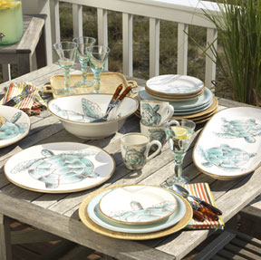 Sea Turtle Dinnerware by Vietri | Gracious Style