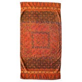 Kashmiri Rug Cotton Bath Towels by Fresco | Gracious Style